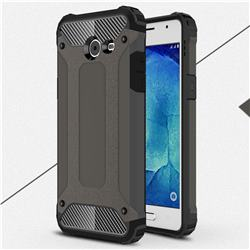 King Kong Armor Premium Shockproof Dual Layer Rugged Hard Cover for Samsung Galaxy J5 2017 US Edition - Bronze