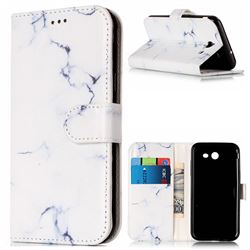 Soft White Marble PU Leather Wallet Case for Samsung Galaxy J5 2017 J5 US Edition
