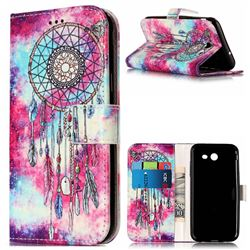 Butterfly Chimes PU Leather Wallet Case for Samsung Galaxy J5 2017 J5 US Edition