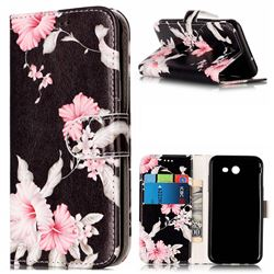 Azalea Flower PU Leather Wallet Case for Samsung Galaxy J5 2017 J5 US Edition