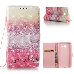 Desert Smile 3D Painted Leather Wallet Case for Samsung Galaxy J5 2017 J5 US Edition