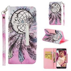 Angel Monternet Big Metal Buckle PU Leather Wallet Phone Case for Samsung Galaxy J5 2017 US Edition