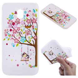 Tree and Girl 3D Relief Matte Soft TPU Back Cover for Samsung Galaxy J5 2017 J530 Eurasian
