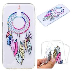 Rainbow Campanula Super Clear Soft TPU Back Cover for Samsung Galaxy J5 2017 J530 Eurasian