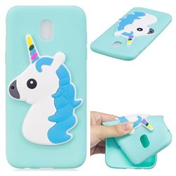 Blue Hair Unicorn Soft 3D Silicone Case for Samsung Galaxy J5 2017 J530 Eurasian