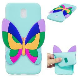 Rainbow Butterfly Soft 3D Silicone Case for Samsung Galaxy J5 2017 J530 Eurasian