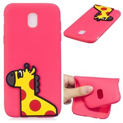 Yellow Giraffe Soft 3D Silicone Case for Samsung Galaxy J5 2017 J530 Eurasian