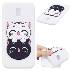 Couple Cats Soft 3D Silicone Case for Samsung Galaxy J5 2017 J530 Eurasian