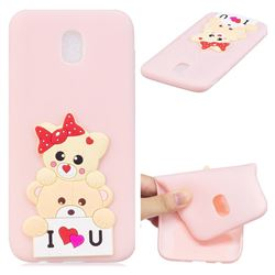 Love Bear Soft 3D Silicone Case for Samsung Galaxy J5 2017 J530 Eurasian