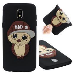 Bad Boy Owl Soft 3D Silicone Case for Samsung Galaxy J5 2017 J530 Eurasian - Black