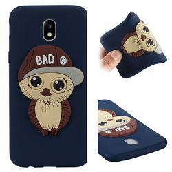 Bad Boy Owl Soft 3D Silicone Case for Samsung Galaxy J5 2017 J530 Eurasian - Navy