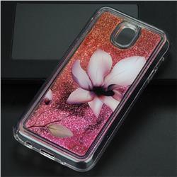 Lotus Glassy Glitter Quicksand Dynamic Liquid Soft Phone Case for Samsung Galaxy J5 2017 J530 Eurasian