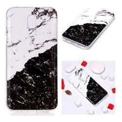 Black and White Soft TPU Marble Pattern Phone Case for Samsung Galaxy J5 2017 J530 Eurasian