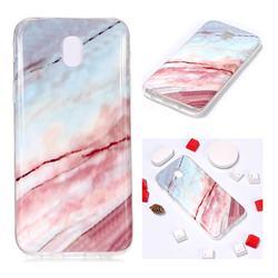 Elegant Soft TPU Marble Pattern Phone Case for Samsung Galaxy J5 2017 J530 Eurasian