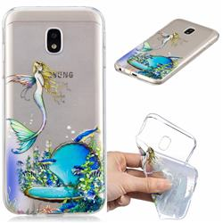 Mermaid Clear Varnish Soft Phone Back Cover for Samsung Galaxy J5 2017 J530 Eurasian