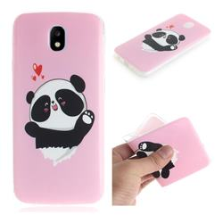 Heart Cat IMD Soft TPU Cell Phone Back Cover for Samsung Galaxy J5 2017 J530 Eurasian