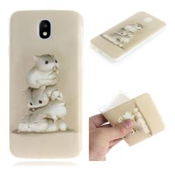 Three Squirrels IMD Soft TPU Cell Phone Back Cover for Samsung Galaxy J5 2017 J530 Eurasian