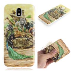 Beast Zoo IMD Soft TPU Cell Phone Back Cover for Samsung Galaxy J5 2017 J530 Eurasian