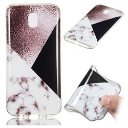 Black white Grey Soft TPU Marble Pattern Phone Case for Samsung Galaxy J5 2017 J530 Eurasian