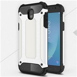 King Kong Armor Premium Shockproof Dual Layer Rugged Hard Cover for Samsung Galaxy J5 2017 J530 Eurasian - White