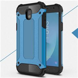 King Kong Armor Premium Shockproof Dual Layer Rugged Hard Cover for Samsung Galaxy J5 2017 J530 Eurasian - Sky Blue