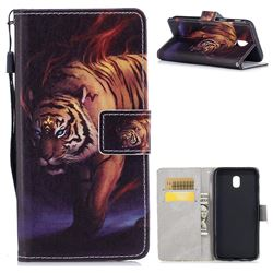 Mighty Tiger PU Leather Wallet Case for Samsung Galaxy J5 2017 J530 Eurasian