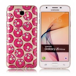 Eye Donuts Super Clear Soft TPU Back Cover for Samsung Galaxy J5 Prime