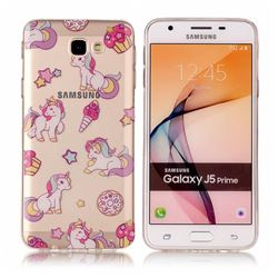 Unicorn Super Clear Soft TPU Back Cover for Samsung Galaxy J5 Prime