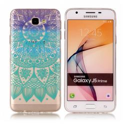 Mandala Wind Chimes Super Clear Soft TPU Back Cover for Samsung Galaxy J5 Prime