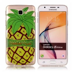 Big Pineapple Super Clear Soft TPU Back Cover for Samsung Galaxy J5 Prime