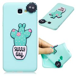 Cactus Flower Soft 3D Silicone Case for Samsung Galaxy J5 Prime