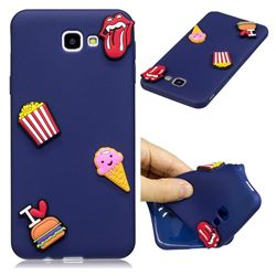 I Love Hamburger Soft 3D Silicone Case for Samsung Galaxy J5 Prime