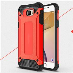 King Kong Armor Premium Shockproof Dual Layer Rugged Hard Cover for Samsung Galaxy J5 Prime - Big Red