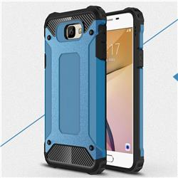 King Kong Armor Premium Shockproof Dual Layer Rugged Hard Cover for Samsung Galaxy J5 Prime - Sky Blue