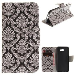 Totem Flowers PU Leather Wallet Case for Samsung Galaxy J5 Prime