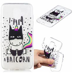 Batman Clear Varnish Soft Phone Back Cover for Samsung Galaxy J6 (2018) SM-J600F