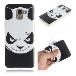 Angry Bear IMD Soft TPU Cell Phone Back Cover for Samsung Galaxy J6 (2018) SM-J600F