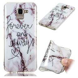 Forever Soft TPU Marble Pattern Phone Case for Samsung Galaxy J6 (2018) SM-J600F