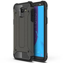 King Kong Armor Premium Shockproof Dual Layer Rugged Hard Cover for Samsung Galaxy J6 (2018) SM-J600F - Bronze