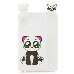 Panda Soft 3D Climbing Doll Stand Soft Case for Samsung Galaxy J6 (2018) SM-J600F