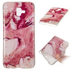 Pork Belly Soft TPU Marble Pattern Phone Case for Samsung Galaxy J6 Plus / J6 Prime