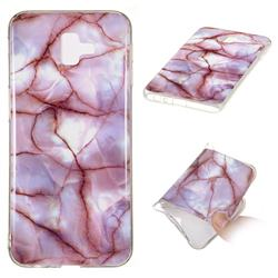Earth Soft TPU Marble Pattern Phone Case for Samsung Galaxy J6 Plus / J6 Prime