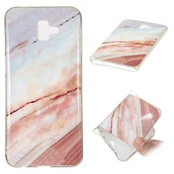 Elegant Soft TPU Marble Pattern Phone Case for Samsung Galaxy J6 Plus / J6 Prime