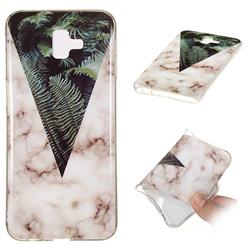 Leaf Soft TPU Marble Pattern Phone Case for Samsung Galaxy J6 Plus / J6 Prime