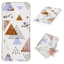 Hill Soft TPU Marble Pattern Phone Case for Samsung Galaxy J6 Plus / J6 Prime