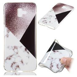 Black white Grey Soft TPU Marble Pattern Phone Case for Samsung Galaxy J6 Plus / J6 Prime