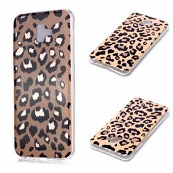 Leopard Galvanized Rose Gold Marble Phone Back Cover for Samsung Galaxy J6 Plus / J6 Prime
