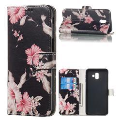 Azalea Flower PU Leather Wallet Case for Samsung Galaxy J6 Plus / J6 Prime