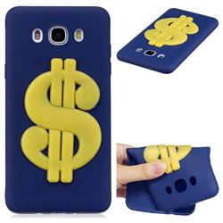 US Dollars Soft 3D Silicone Case for Samsung Galaxy J7 2016 J710