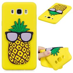 Pineapple Soft 3D Silicone Case for Samsung Galaxy J7 2016 J710